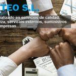 Portada nueva web de CETEO S.L. Especializado en servicios de calidad: limpieza, servicios externos, suministros para empresas...